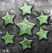 Estrella grunge — Foto de Stock