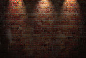 Illustration of red brick wall — Stock Photo