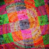Fondo abstracto con coloridas plazas — Foto de Stock