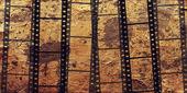 Abstrakte Grunge Hintergrund mit Filmstreifen — Stockfoto