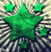 гранж звезда — Стоковое фото