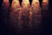 Illustration of red brick wall — ストック写真