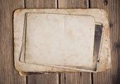 古紙の木製の背景 — ストック写真