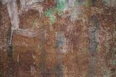 Metalen gecorrodeerde textuur — Stockfoto