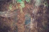 金属锈蚀的纹理 — 图库照片