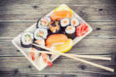 Maki Sushi set — Stock Photo