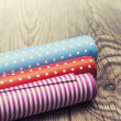 Rolls of colored wrapping paper — Stock Photo #47331873