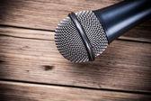 One Microphone — Stock Photo