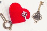 Vintage sleutels — Stockfoto