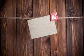 Eski kağıt levha — Stok fotoğraf