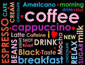 Sorts of coffe  — Stock Photo