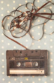 Audio tape cassette  — Stock Photo