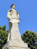 Statue of a sailor at Constanta , Romania — Stock Photo