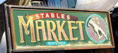 Stables Market sign , London — Stock Photo