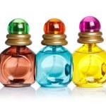 Perfume bottles isolated on white background — Stock Photo #11388672