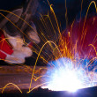 Royalty-Free Stock Photo: Welding sparks