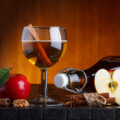 Stock Photo: Apple cider still life