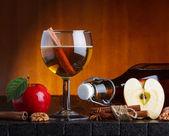 Apple cider still life — Stock Photo