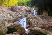 Small waterfall in Thailand, Na Muang — Stock Photo