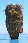 Khao Phing Kan, known as James Bond island, Phang Nga Bay, Thailand — Stock Photo