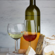 Cheese and wine — Stock Photo #38842033