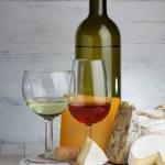 Cheese and wine — Stock Photo #38842033