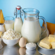 Dairy products — Stock Photo #38842041