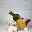 Cheese and wine — Stock Photo #38842051