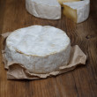 Stock Photo: Camembert cheese
