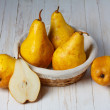 Juicy pears — Stockfoto