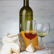 Cheese and wine — Stock Photo #38842351