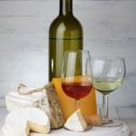 Cheese and wine — Stock Photo #38842351
