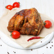 Roasted pork in spices — Stock Photo