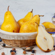 Foto Stock: Juicy pears