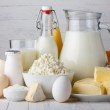 Dairy products — Stock Photo #38842727