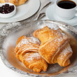 Stock Photo: Fresh croissants