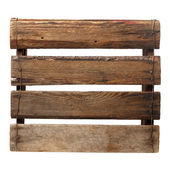 Old empty crate — Stock Photo