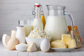 Dairy products — Stockfoto