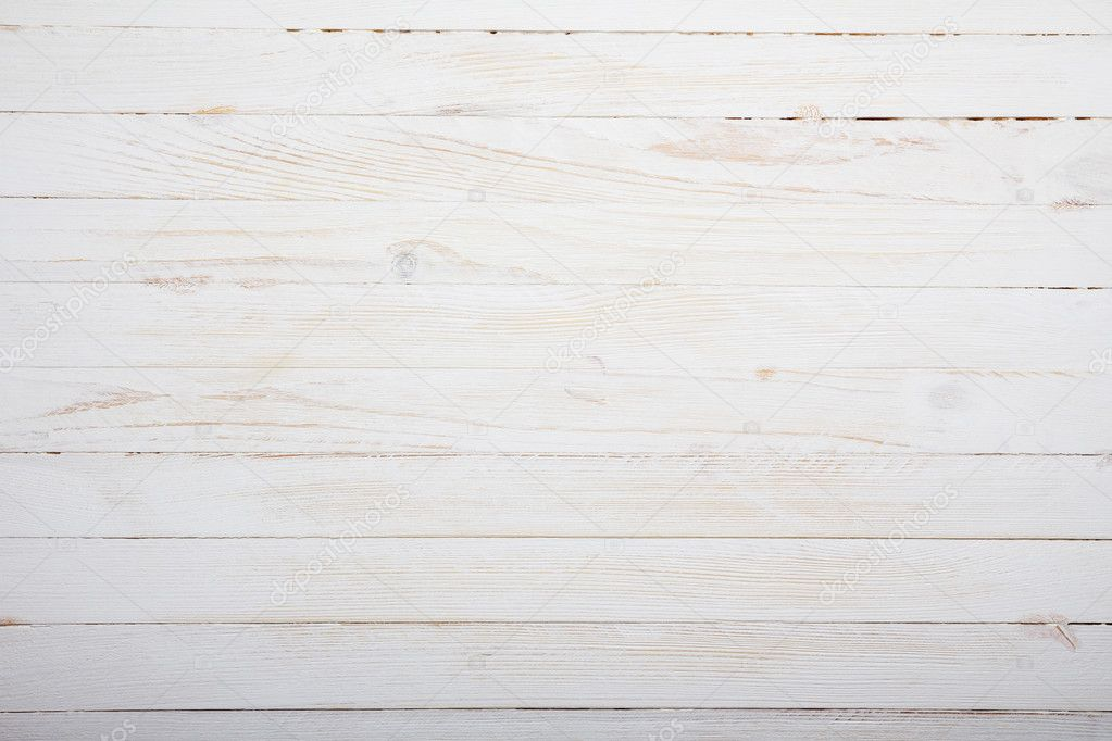 superb white wood table top view