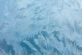 Frosty ice pattern — Stock Photo
