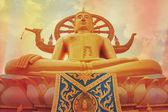 Big buddha heykeli — Stok fotoğraf
