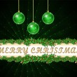 Merry Christmas Background — Imagens vectoriais em stock