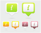 Set of Vector Icon - Web Elements — Vecteur