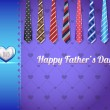 Happy Father's Day Vector Design — Vettoriale Stock #12679627