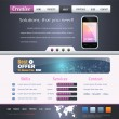 Website design vector elements — Image vectorielle