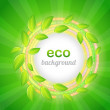 Eco background vector — Stock Vector #12719964