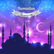 Ramadan Kareem Vector Design — Stock Vector