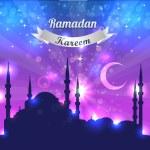 Ramadan Kareem Vector Design — Stock Vector #12729999