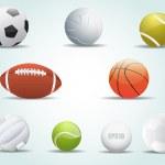 Balls Icon Vector — Stock Vector