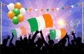 National Celebration Vector ireland — Stock Vector